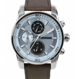 Prisma Prisma - Horloge - Traveller Time Lichtblauw