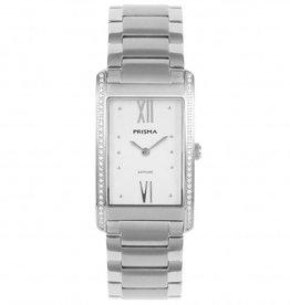 Prisma Prisma - Horloge - Precise Zirconia SilverWhite