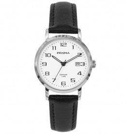 Prisma Prisma - Horloge - Whitesilver