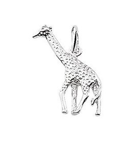 Kasius Zilveren bedel -  Giraffe