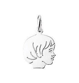 Kasius Zilveren kinderkopje - Meisje