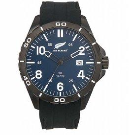 All Blacks All Blacks - Horloge - Staal - Silicone