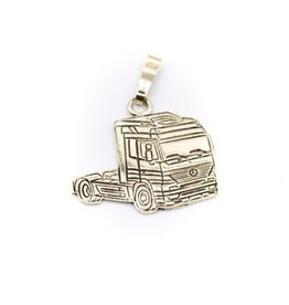 Occasions by Marleen Occasions by Marleen - Gouden hanger - Truck