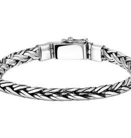 Kasius Zilveren armband - Geoxideerd - 20 cm