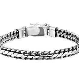 Kasius Zilveren armband - 20 cm - 6 mm