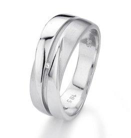 Yo Design Yo Design - Zilveren ring - Jump - Maat 17.5