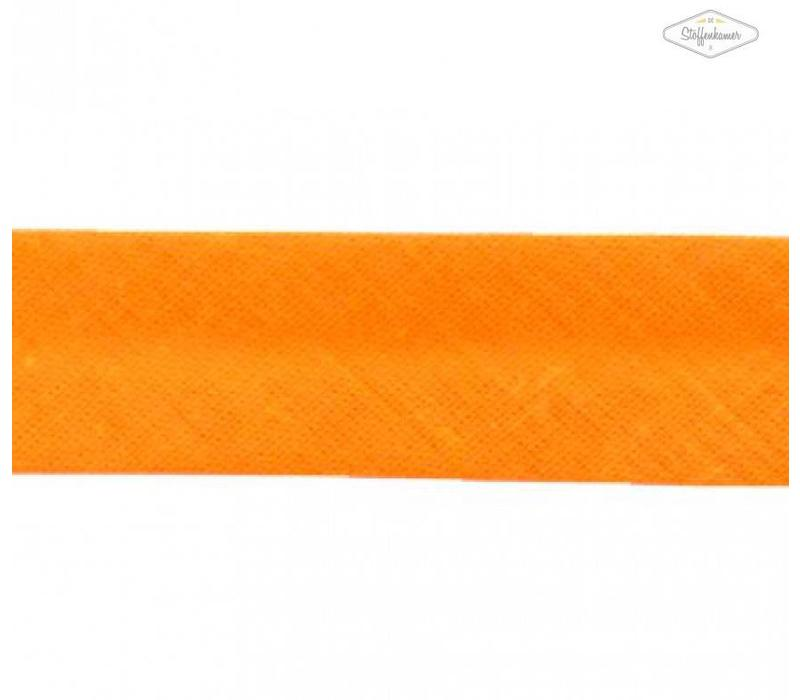 Biaisband licht oranje