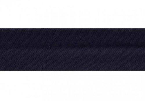De Stoffenkamer Biaisband donkerblauw