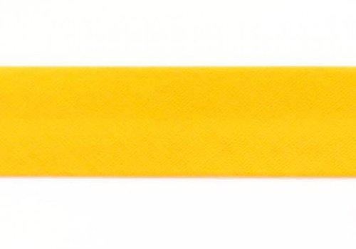 De Stoffenkamer Biaisband zonnegeel