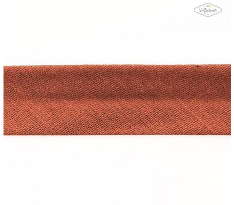 Biaisband roodbruin