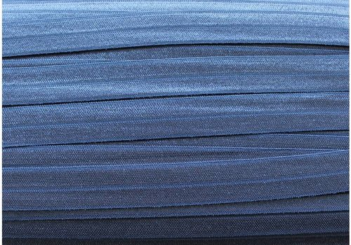 De Stoffenkamer Rekbare biaisband donkerblauw