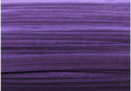 De Stoffenkamer Rekbare biaisband paars