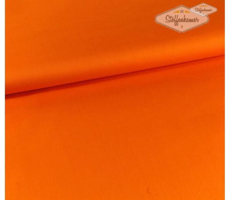 Canvas gabardine oranje