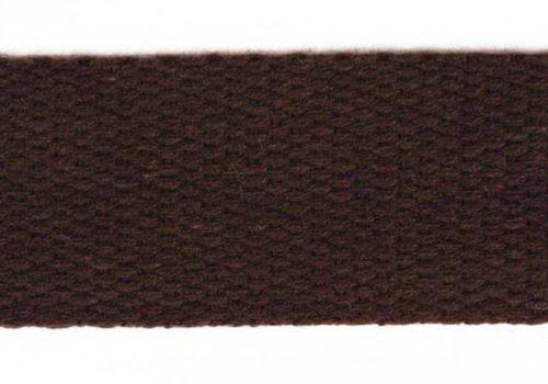 De Stoffenkamer Tassenband donkerbruin