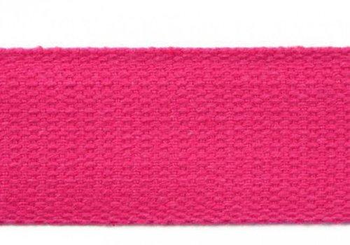 De Stoffenkamer Tassenband fushia