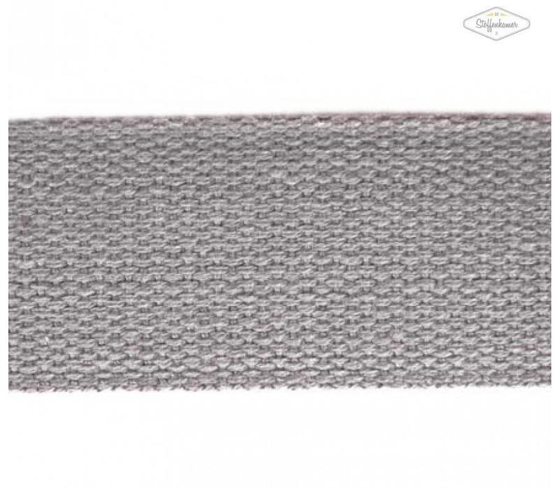 Tassenband grijs
