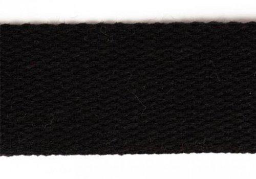 De Stoffenkamer Tassenband zwart