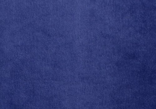 Extra dikke nicky velours koningsblauw