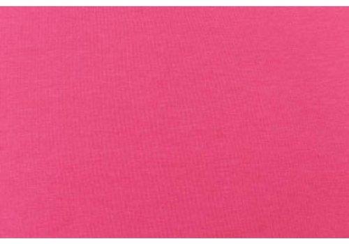 De Stoffenkamer Effen tricot Fel roze