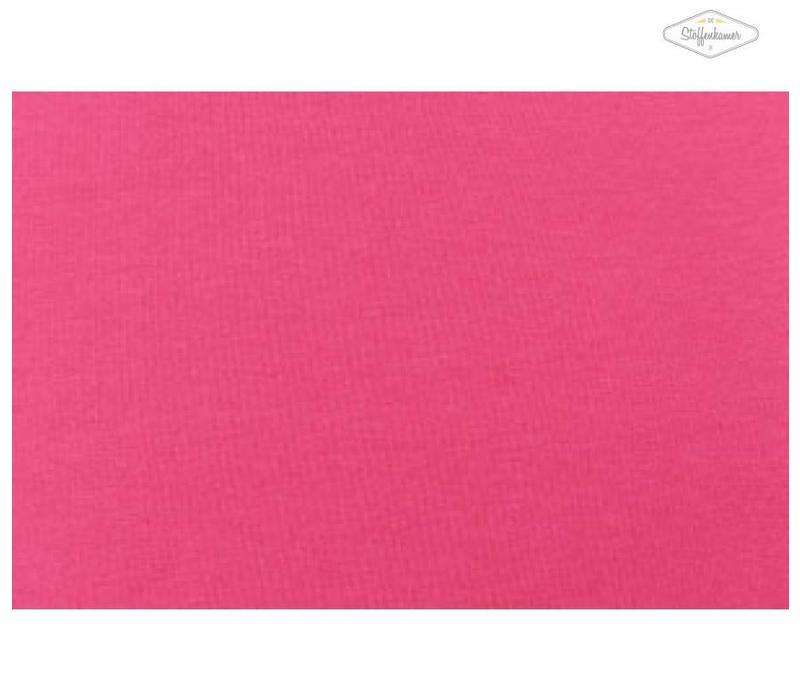 Effen tricot Fel roze