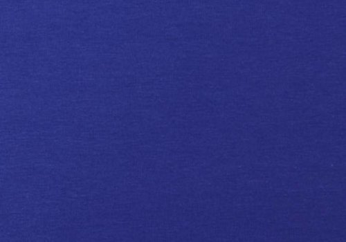 De Stoffenkamer Effen tricot Koningsblauw