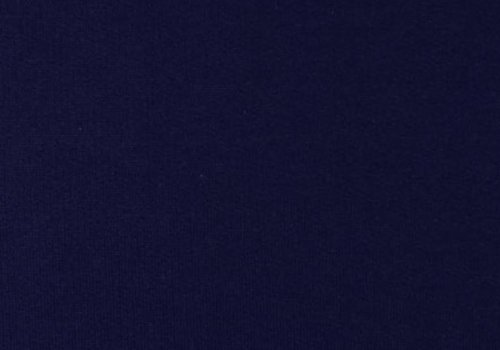 De Stoffenkamer Effen sweaterstof Donkerblauw