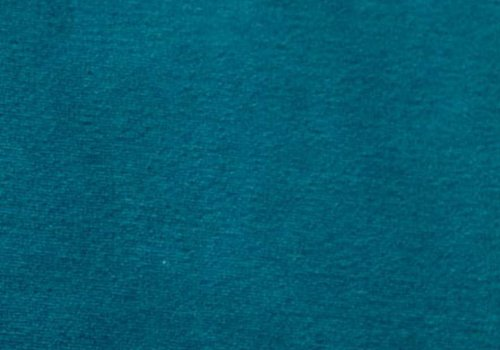 De Stoffenkamer Nicky velours petrolblauw