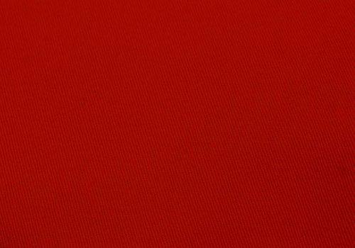 De Stoffenkamer Gabardine canvas rood