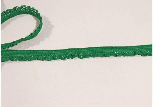 De Stoffenkamer Sierelastiek 12mm Groen