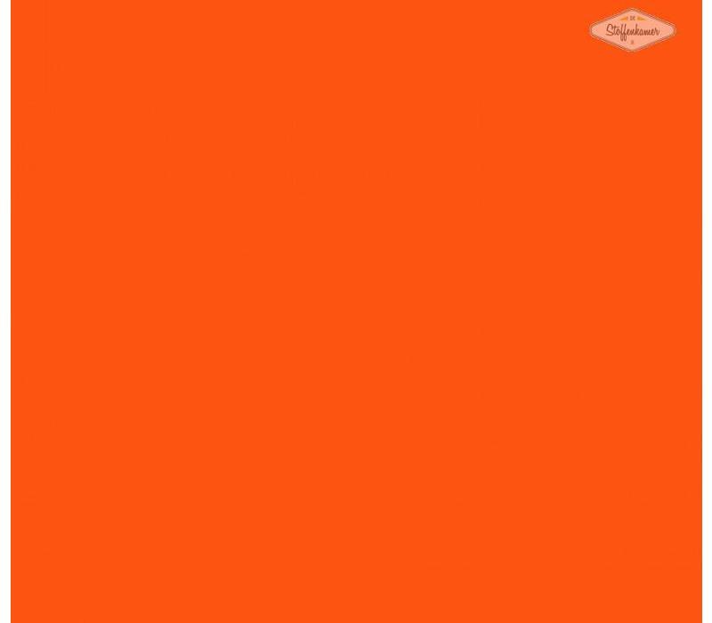 Flockfolie fluo oranje