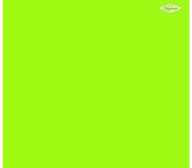 Flockfolie fluo groen