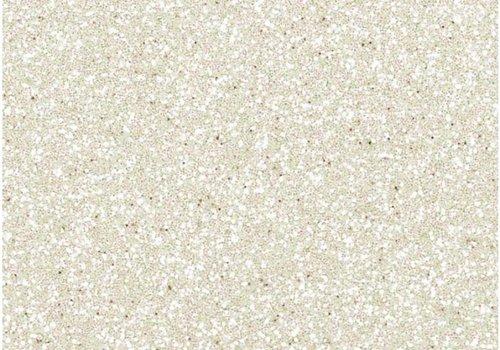 De Stoffenkamer Glitterfolie wit