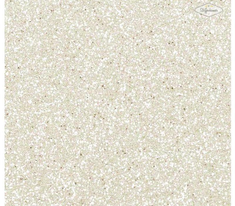 Glitterfolie wit
