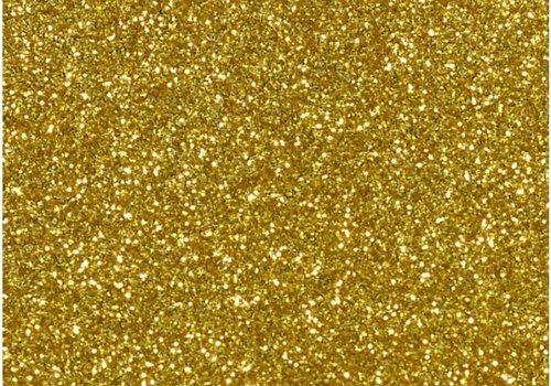 De Stoffenkamer Glitterfolie goud