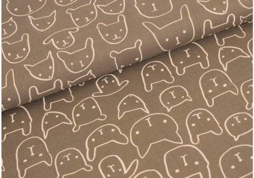 Cotton + Steel Printshop By Alexia Abegg Bears