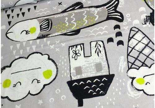 Cotton + Steel Sleep tight - Toys neutral