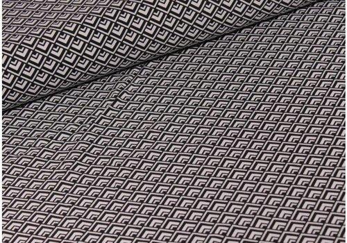 Michael Miller Geometric Black and white