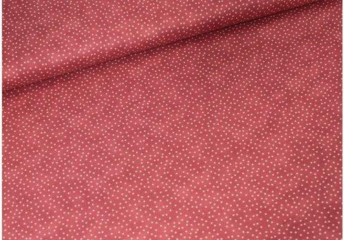 Moda Moda Cotton Dots red