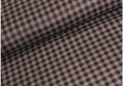 Robert Kaufman Flanel Checkers Grey