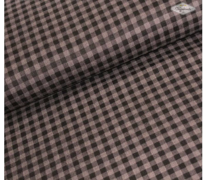 Flanel Checkers Grey