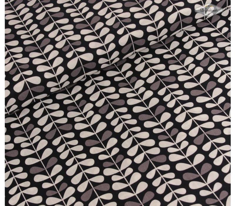 Leaves Black and white Copenhagen