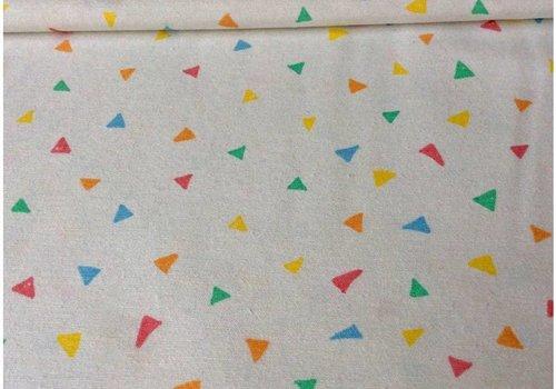 De Stoffenkamer Stevige katoen little triangles