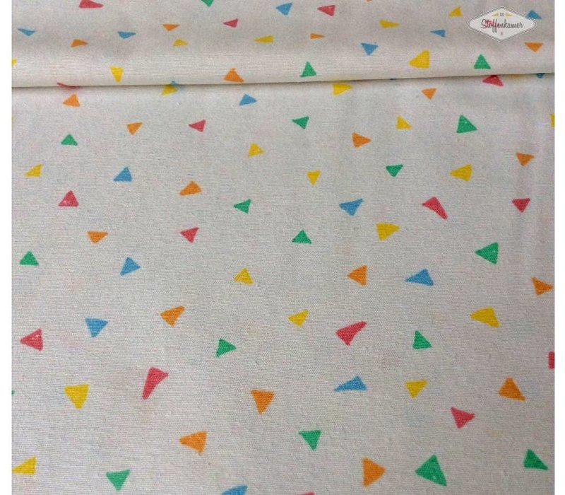 Stevige katoen little triangles