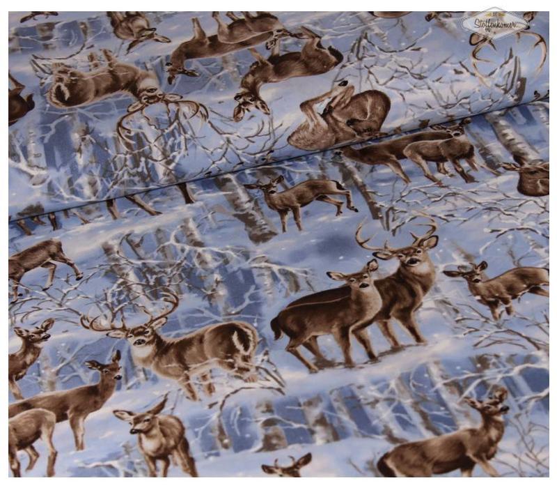 Winter Wonder Land Deer