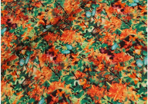 Timeless Treasures Butterflie Garden