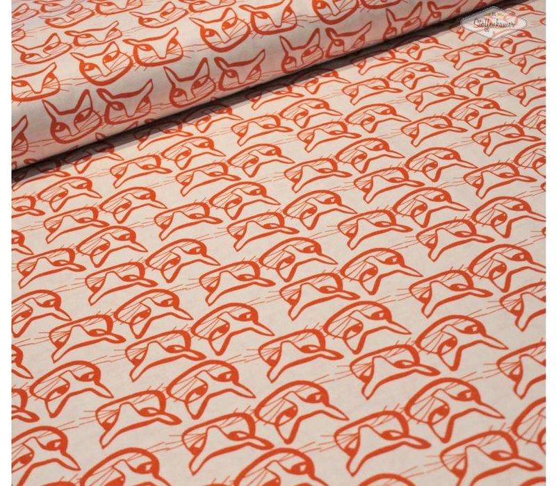 Windham Cotton Cats Orange