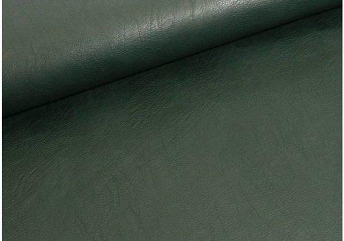 De Stoffenkamer Faux-Leather Intens Groen