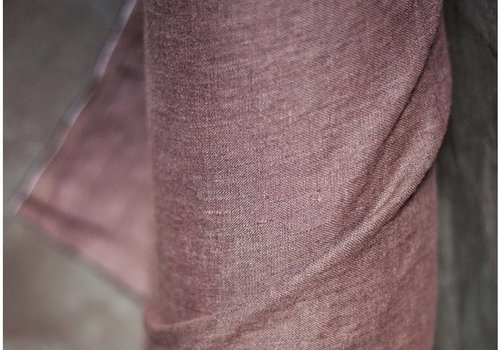 De Stoffenkamer Washed Linen Oxblood
