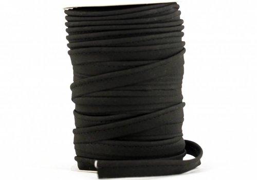 De Stoffenkamer Paspelband zwart