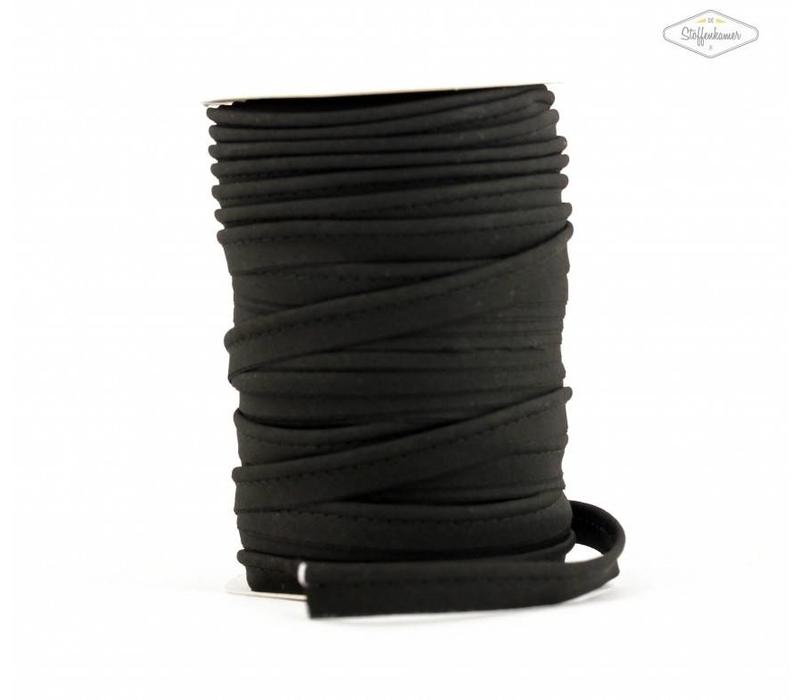 Paspelband zwart
